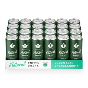 Energiajuoma Puhdistamo Natural energy drink bergamotti 24 pack